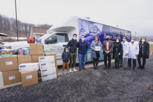 Stronghold Group Donates Truckload of PPE to The Wright Center for Community Health